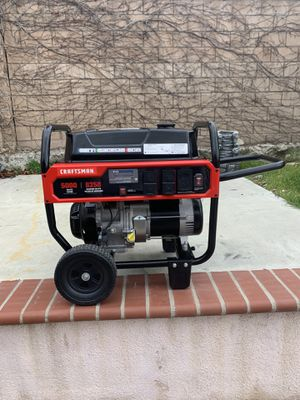 Craftsman 5,000 watt generator for Sale in Fontana, CA