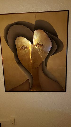 1 of 1. Late 70's early 80's Modern sculpture Art for Sale in Sioux City, IA