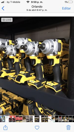 New Dewalt impacts wrench 1/2 tool only 139 each for Sale in Orlando, FL
