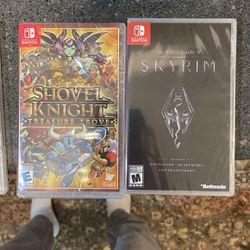 4 SEALED Nintendo Switch Games for Sale in Arlington,  VA