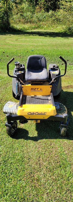 USED 2016 Cub Cadet RZT-L-42 Zeroturn Lawnmower for Sale in US
