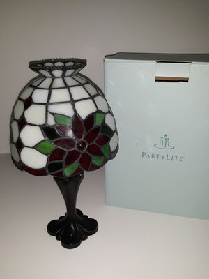 PartyLite lamp W/ tea light candles for Sale in Greenville, SC