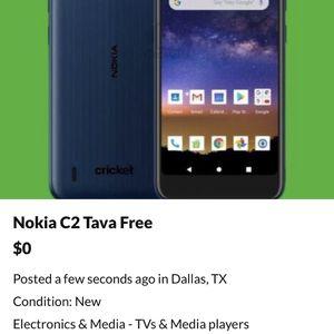 Nokia C2 Tava Free for Sale in Dallas, TX