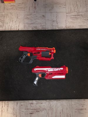 NERF Gun MEGA Lot of 2 Blasters(Cycloneshock and Magnus) for Sale in Dover, MA