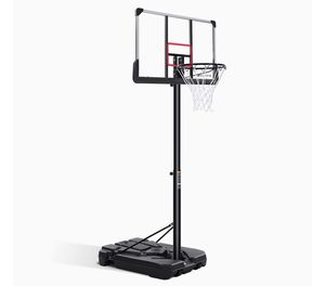 Brand new !Basketball Hoop & Goal Basketball System Basketball Equipment with Height Adjustable 7ft 6in-10ft with 44 Inch Backboard & Wheels for Yout for Sale in Renton, WA