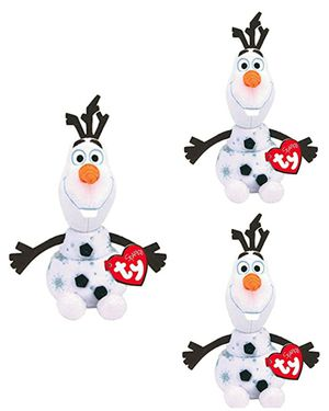 3 Ty Beanie Baby Sparkle Frozen 2 Olaf Plush toys for Sale in Hawthorne, CA