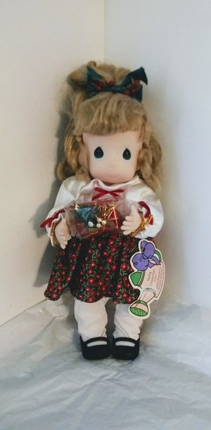 Precious Moments Holly Doll December 14inch tall for Sale in Denver, CO