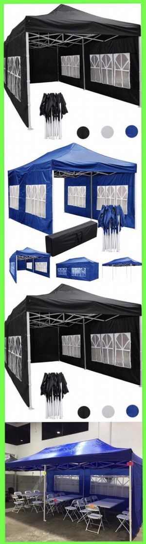 10x20ft POP UP CANOPY TENT WEATHER RESISTANT for Sale in Pomona, CA