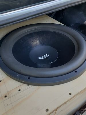 18 inch beast re audio subwoofer for Sale in Austin, TX