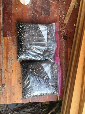 10 pounds of aquarium gravel. Mixed with river gravel. Lightly Used for Sale in Baton Rouge, LA