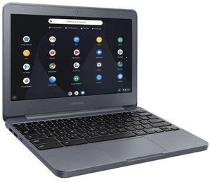 Samsung Chromebook 3 11.6-inch HD WLED Intel Celeron 4GB 32GB eMMC Chrome OS Laptop (Charcoal) for Sale in Federal Way, WA