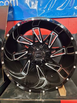 20x12 IMPACT 6X135-6X139.7 WHEELS AND TIRES for Sale in Fresno, CA