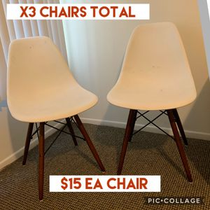 Modern Chair x 3 Total for Sale in Los Angeles, CA