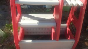 Boys toy box and baseball bat holder for Sale in Pinellas Park, FL