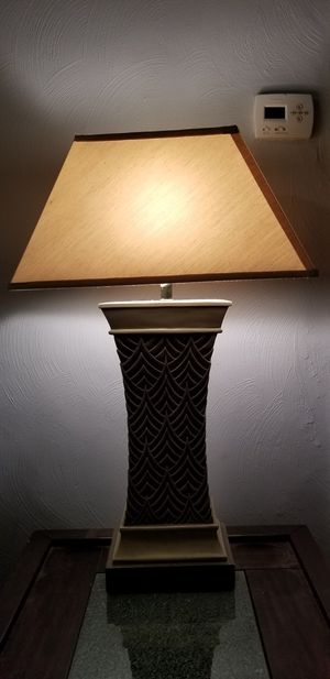 Lamp & shade for Sale in Chesapeake, VA