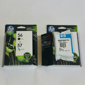 New Sealed Box HP 56/57 Ink Cartridges & 1 New Sealed HP 56 Ink Cartridge. for Sale in Burr Ridge, IL