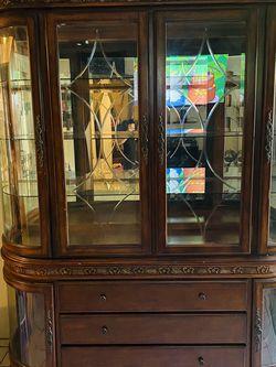 China Cabinet /...vitrina-preciosa-de-caoba_ for Sale in Compton,  CA