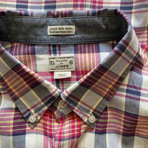 JCrew Red Plaid Shirt for Sale in El Dorado Hills, CA