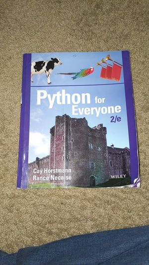 Python for Everyone 2/e for Sale in Denver, CO