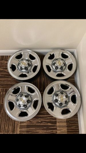 6 Lug Chevrolet Rims 16 inch for Sale in Orlando, FL