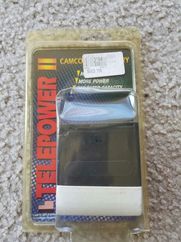 Telepower Camcorder TP-NPF550/750/950