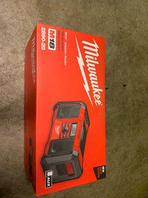 Milwaukee M18 Jobsite Radio for Sale in Seattle, WA