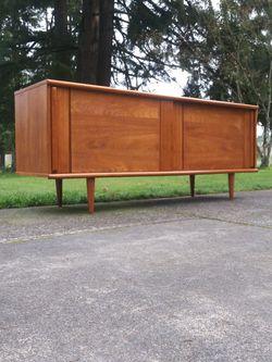 Mid Century Danish Modern Peter Lovig Teak Credenza Vintage for Sale in Tacoma,  WA