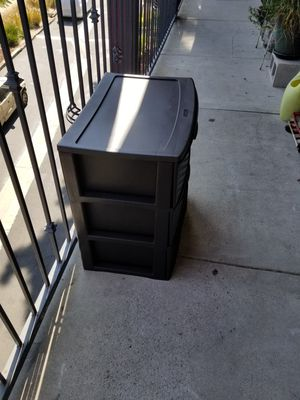 Plastic resistance drawer for Sale in Wilmington, CA