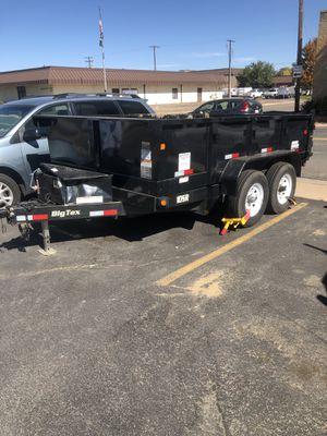 2013 big Tex dump trailer for Sale in Aurora, CO