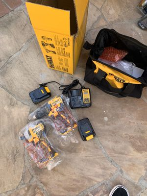 Dewalt drill set for Sale in Tustin, CA