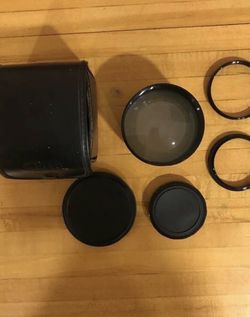 Optex 2.0 telephoto video lens, adapters for Sale in Rochester,  NY
