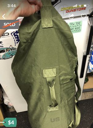 5 military type stuff duffle sacks. 4 dollars each for Sale in Torrance, CA