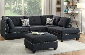 Sectional with Ottoman for Sale in Fort Lauderdale, FL