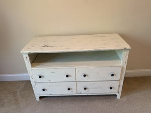 Distressed dresser and chair for Sale in Carrollton, VA