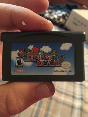Super Mario game boy advance 15 bucks for Sale in Tulsa, OK