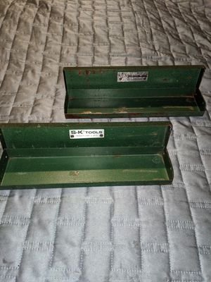 Small vintage SK metal tool box for Sale in Graham, WA