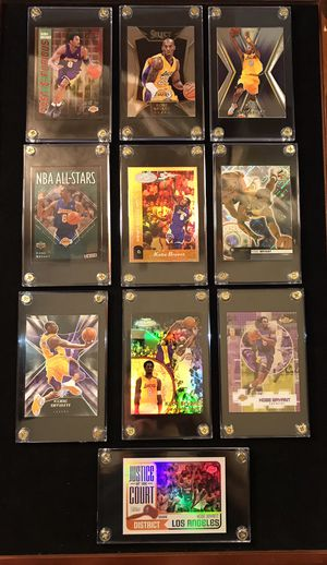 10 Kobe Bryant cards for Sale in Chino, CA