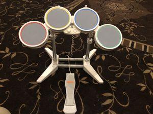 Wi - Nintendo Wi - Drum Set, Rock Band set, Dance Revolution set for Sale in Hollywood, FL