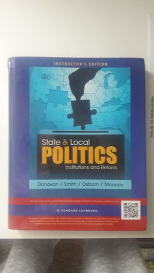 State & Local Politics Institutions and Reform for Sale in East Wenatchee, WA