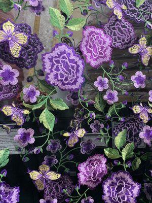 Flower design fabric -multicolor design for Sale in Los Angeles, CA