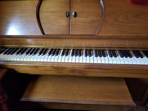 Player Piano, Bench, Music Rolls for Sale in Westport, WA