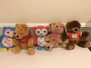 Stuffed animals for Sale in Annandale, VA