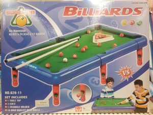Kids Billiards Game New for Sale in Baltimore, MD