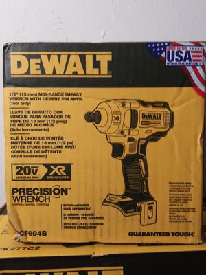 "DEWALT. 20Volt. MAX. XR. 1/2"" Impact Wrench. (tool only) for Sale in Phoenix, AZ"