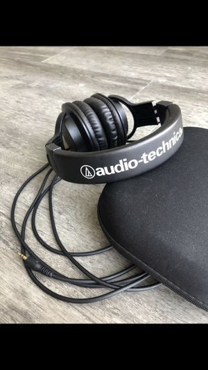 Audio-Technical Professional Studio Recording Headphones for Sale in Tampa, FL