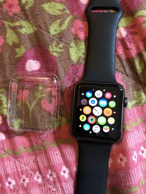 Apple Watch series 1 42 mm included charger and case for Sale in Highland Park, MI