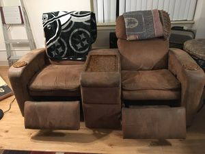 2 cabin chairs with electric reclining for Sale in Denver, CO