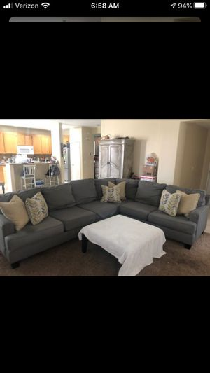 Sectional couch for Sale in San Jacinto, CA