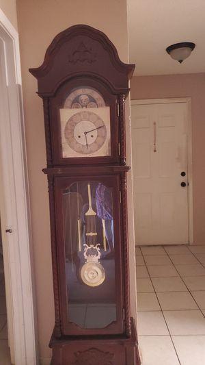 Antique grandfather clock for Sale in Pompano Beach, FL