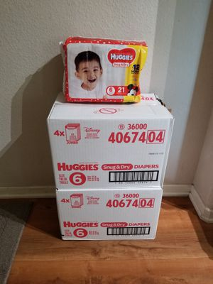 HUGGIES Diapers for Sale in Los Angeles, CA
